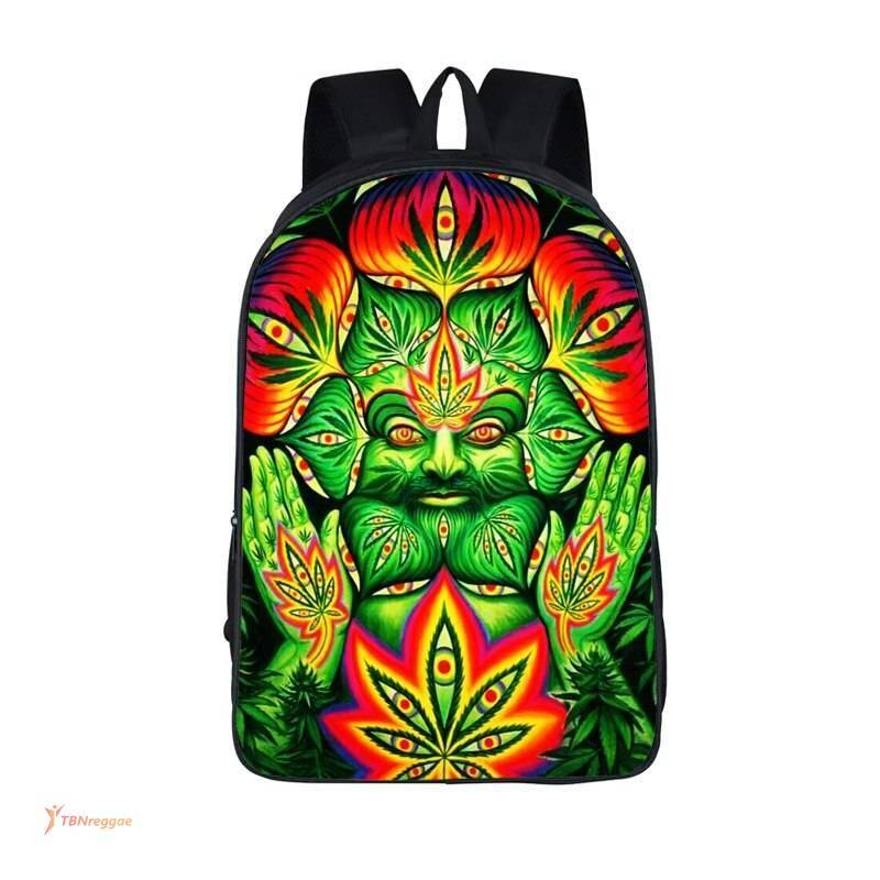 Weed Themed Casual Unisex Backpack Backpacks
