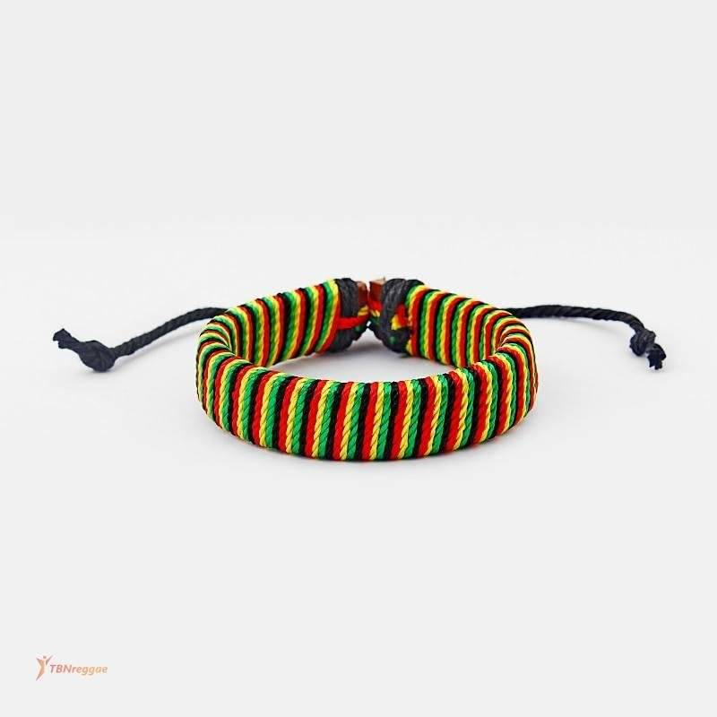 Rasta Styled Cotton Cord Bracelet Bangles & Bracelets New In