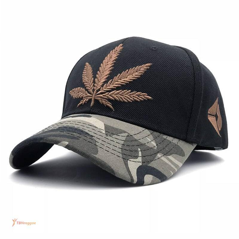 Camouflage Styled Weed Themed Embroidery Cap Best Deals Caps & Beannies