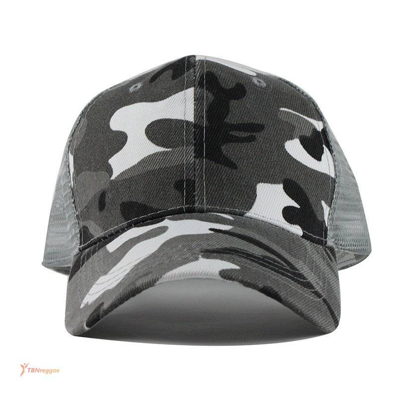 Camouflage Printed Trucker Cap for Men and Women Caps & Beannies